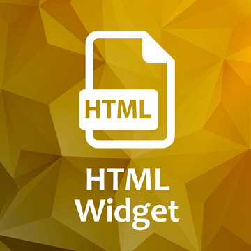 Html Widget plugin for Nopcommerce